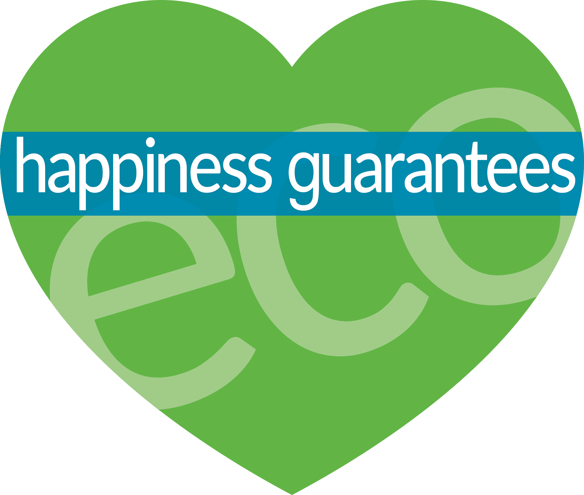 The Eco Plumbers - Happiness Guarantee logo